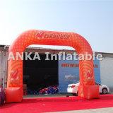 Linha de revestimento inflável personalizada arco para esportes