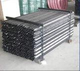 Столб звезды Picket/1650mm y сбывания Австралии горячей покрашенный чернотой стальной