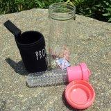 Kop van het Fruit van de Fles van het Water van Infuser van het Fruit van de Fles van het Water van PC de Plastic