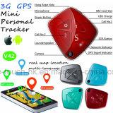3G/Tiny Fall-Alarm Mini GPS tracker pour personnel/adulte/enfant avec la caméra V42