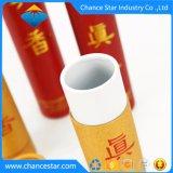 Kundenspezifisches rundes Papppapier-Gefäß, das für Duft verpackt