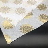 Plus riche du papier de soie bleu écologique pour l'emballage cadeau