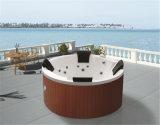Baignoire extérieure circulaire portative de tourbillon de STATION THERMALE de massage d'oreillers démontables