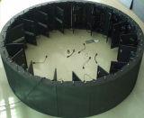 Visualización de LED redonda al aire libre modificada para requisitos particulares de la circular de 360 grados