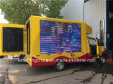 Caminhão do diodo emissor de luz de Foton Jiatu 4X2 P8, diodo emissor de luz que anuncia o caminhão, caminhão móvel pequeno