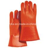 Пвх дому перчатки водонепроницаемые рабочие перчатки Маслостойкий перчатки