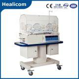 Incubadora do infante do aquecedor H-1000 do bebê do equipamento médico