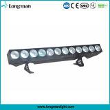 Super helles Stadiums-Blinder-Beleuchtung-Gerät des Aluminium-12PCS*25W Rgbaw LED