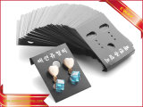 PVC Hanger Carte Carte Carte de bijoux Earring