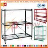 Qualitäts-Stahlmaschendraht-Lager-Regal für Speicherung (Zhr180)