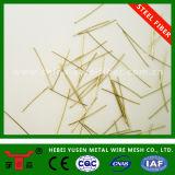 Revestido a Cobre micro fibra do fio de aço