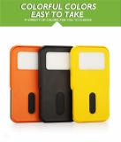Los viajes del Banco de Energía Solar 10000mAh con la lámpara de LED y soporte para teléfono