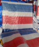 La bâche de protection durable bande colorée