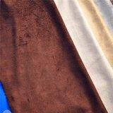 Ткань замши SSS связанная рангом для одежды или покрытия ботинок