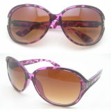 Óculos de sol de plástico e tr90 com tela quente com lente polarizada