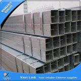 Tubo de acero rectangular galvanizado sumergido caliente de ERW