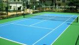 Piso de desportos de tênis Usado - Piso de plástico de PVC para exterior