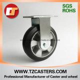 Chasse fixe avec le centre en caoutchouc d'aluminium de roue