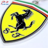Kundenspezifische Pferden-Muster-Zink-Legierung Keychain für Verkauf