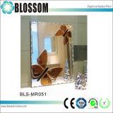 Antiguo patrón mariposa espejo decorativo para el hogar Decoración de pared