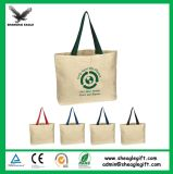 Transferência de calor de bolsa de lona 100% impressa personalizada