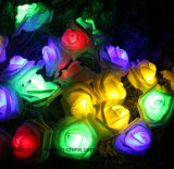 San Valentín Rosa LED luces de la cadena