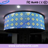 A todo color para interiores/exteriores Panel de pantalla LED de alquiler de círculo (P3.91, P4.81, P5.95, P6.25)