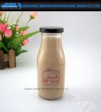 300ml StarbucksのロゴサービスのガラスミルクのFuitの飲料のびん