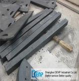 Piatto laterale resistente all'uso /Liner per i pezzi di ricambio del frantoio a mascella
