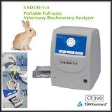 Analyseur vétérinaire automatique approuvé de biochimie de l'équipement médical Ce/ISO