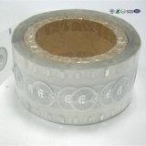 Étiquette sèche de tag RFID de collant de roulis de papier pour étiquettes d'antenne de fréquence ultra-haute