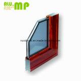 Heißes Verkaufs-hölzernes Korn-Aluminiumprofil schiebendes Windows