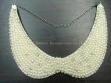 Il collare delle perle del Rhinestone di modo copre gli accessori del vestito dalle donne dei branelli di Appliques