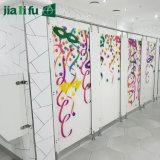 Le stratifié de contrat de couleur de Jialifu Chine lambrisse la partition de toilette