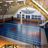 De binnen Vloer van het Hof van de Pingpong van de Sport van pvc voor Pingpong/Basketbal