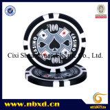 11.5g Poker Chip met Custom Stickers (sy-D17F)