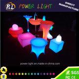 Случае оформление ночной клуб красочной подсветкой LED Садовая мебель