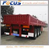 40 la tonne la paroi latérale 3essieux/latérale côté Drop/board/semi-remorque de camion cargaison en vrac