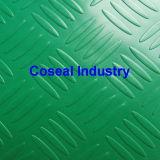 El plástico PVC antideslizante alfombra de hojas de sauce