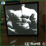 Тонкое СИД Advertizing Light Box с Aluminum Magnetic Frame