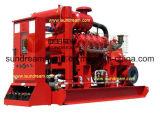 Lutte contre les incendies de la pompe à eau haute pression avec la CE