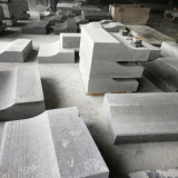 Mattonelle/lastre/lastricatori grigi/paracarro/serraforme/pietra da costruzione del granito della perla bianca di Cills