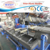 O PVC de WPC granula extrusora da linha da máquina da extrusão/WPC