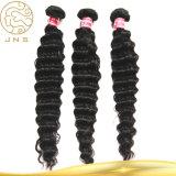 加工されていないブラジルのバージンの人間の毛髪の織り方