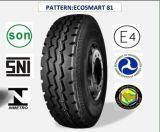 Tous les pneus radiaux en acier de camion et de bus avec le certificat 7.50r16lt (ECOSMART 81) de CEE