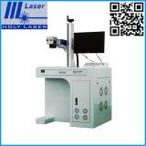 Поверхностная печатная машина логоса фотоего лазера волокна гравировального станка