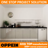 Houten Keukenkast van de Lak van het Project van Australië van Oppein de Moderne Ingebouwde (OP14-L04)