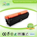 Cartucho de impressora laser remanufovido CE740A CE741A CE742A CE743A Toner colorido para HP