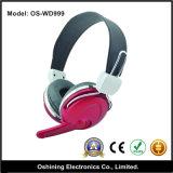 Calcolatore Stereo Headphone con il Mic (OS-WD999)