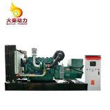 Weifangのすべての銅の6シリンダーが付いているディーゼル発電機セット180kwの発電機